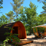 Camping Domaine de la Bergerie- Pod hebergement insolite glamping-vence