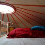 Camping La Belle Hutte - Yourte-Interieur
