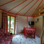 Camping La Belle Hutte - Yourte-Salon